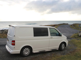 2-Bett Campervan VW T5 low roof 1.9 Tdi